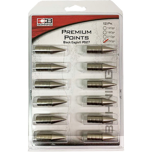 Bohning Glue In Pin Points Ps27 250 Gr. 12 Pk.