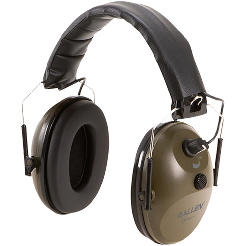 Allen Hearing Protection Earmuff Single Microphone