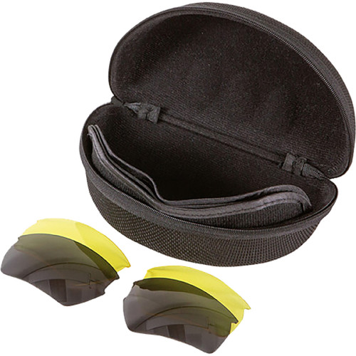 Allen Ion Shooting Glasses Clear/yellow/smoke 3 Pc.