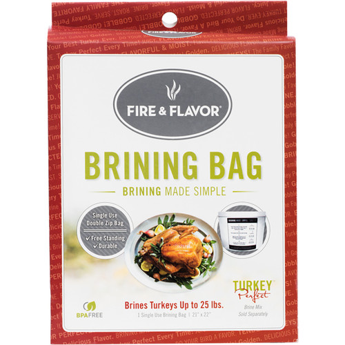Fire And Flavor Turkey Brine Bags 4 Pk.