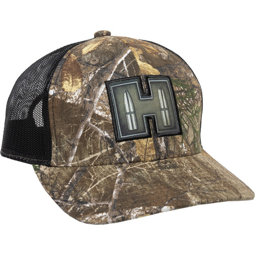 Hornaday Meshback Cap Realtree Edge/black