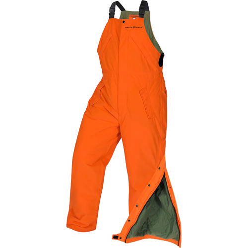 Arctic Shield Classic Elite Bibs Blaze Orange X-large