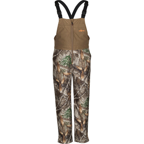 Habit Scent-factor Insulated Bib Xlarge Realtree Edge/cub