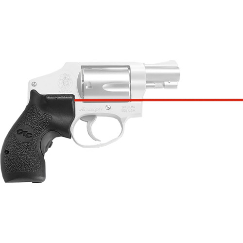 Crimson Trace Lasergrips S&w J-frame/round Butt Red Laser