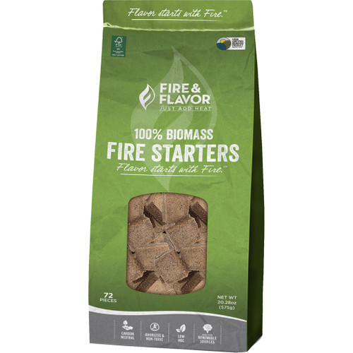 Fire And Flavor Biomass Fire Starter 24 Pk.
