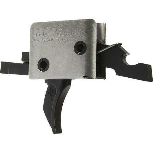 Cmc Triggers Ar15/ar10 Single Stage Trigger Combat Curved Hybrid Cct 3.5 Lb. Pull