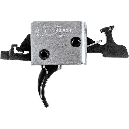 Cmc Triggers Ar15/ar10 Two Stage Trigger Curved 1 Lb. Set-3lb. Release