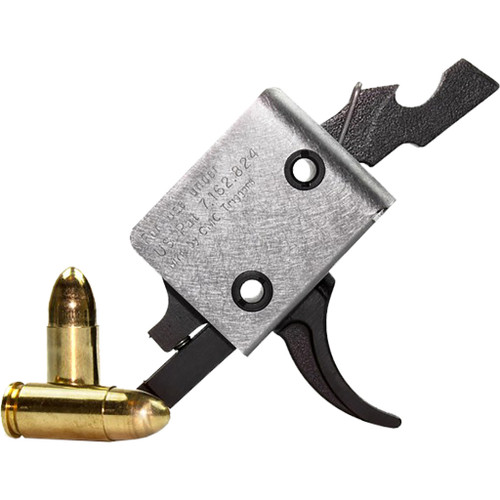 Cmc Triggers Ar15/ar10 9mm Single Stage Trigger Curved 3-3.5 Lb. Pull