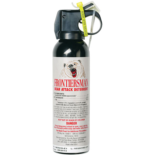Sabre Frontiersman Bear Spray 7.9 Oz