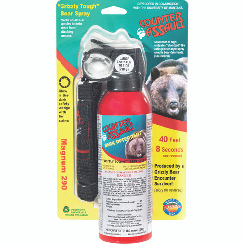 Counter Assault Bear Deterrent W/holster 10.2 Oz.