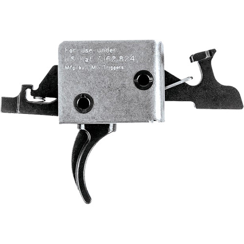 Cmc Triggers Ar15/ar10 Two Stage Trigger Curved Large Pin 2 Lb. Set-2 Lb. Release