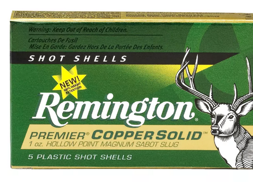 Remington Premier Copper Sabot Slug 12 ga 2 3/4inch 1 oz