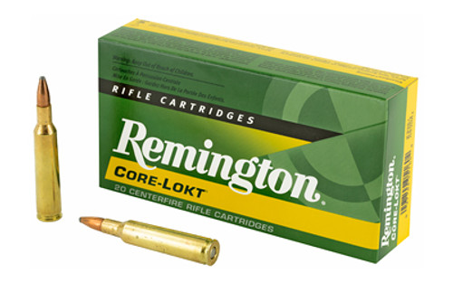 Remington Core Lokt 6MM REM 100 Grain Pointed Soft Point, 20 Round Box