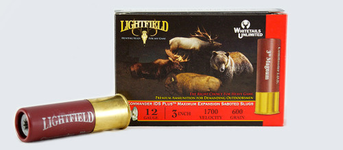 LIGHTFIELD COMMANDER IDS PLUS 3″ 12 GA. 600GR Slugs