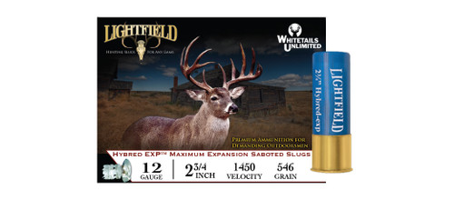 LIGHTFIELD HYBRED EXP 2-3/4″ 12 GA. 546GR Slugs