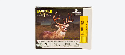 LIGHTFIELD HYBRED EXP 2-3/4″ 20 GA. 385GR. Slugs
