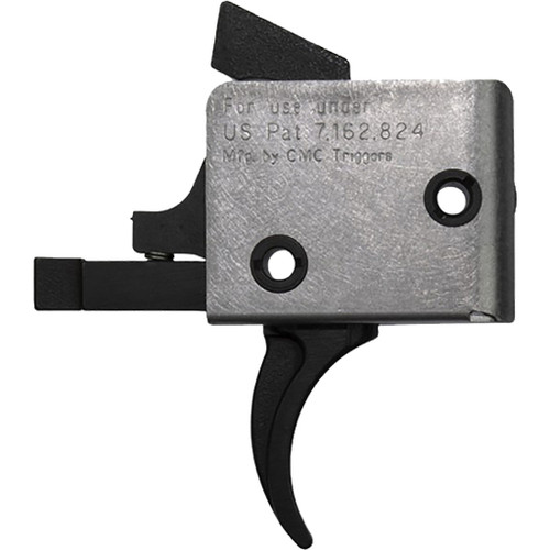 Cmc Triggers Ar15/ar10 Single Stage Trigger Curved Large Pin 3-3.5 Lb. Pull