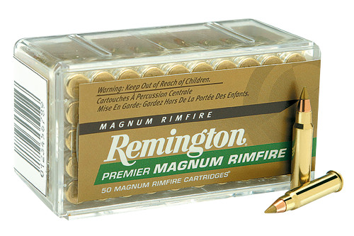 Remington Ammunition 28464 Premier Gold Box Rimfire 17 HMR 17 gr Accu Tip-V 50 Bx