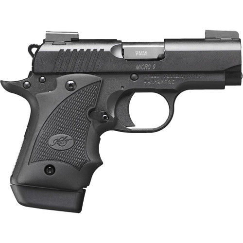 KIMBER MICRO 9 Nightfall PISTOL 9 MM 6.1 IN. MATTE BLACK 7+1 RD. W/ HOGUE GRIP