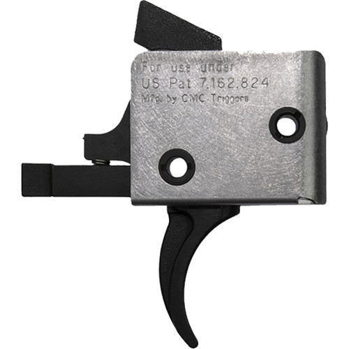 Cmc Triggers Ar15/ar10 Single Stage Trigger Curved 3-3.5 Lb. Pull