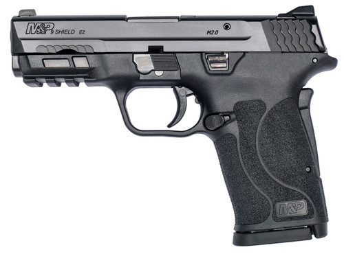 "Smith & Wesson M&P Shield EZ M2.0 9mm Luger 3.68"" 8+1 Black Black Armornite Stainless Steel Slide Black Polymer Grip"