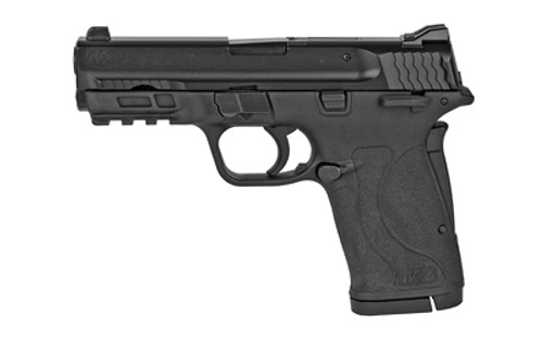 "Smith & Wesson M&P Shield EZ 380 ACP 3.68"" 8+1 With Thumb Safety Black Black Armornite Stainless Steel Slide Black Polymer Grip"
