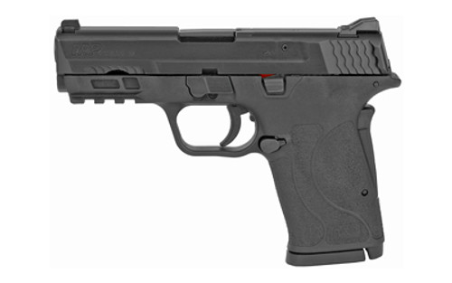 "Smith & Wesson M&P9 SHIELD EZ M2.0 Semi-automatic Pistol Internal Hammer Fired Compact 9MM 3.675"" Barrel Polymer Frame Black 3-Dot Sights Grip Safety 8Rd 2 Magazines"