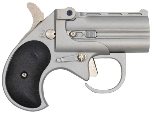 "Cobra Pistol Derringer Big Bore 380 ACP 2.75"" 2rd Satin Stainless Black Synthetic Grip"
