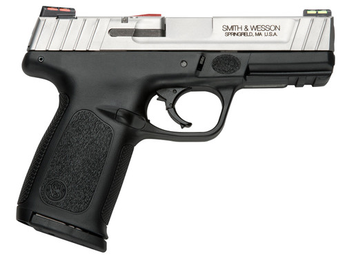 """Smith & Wesson SD9 VE *CA Compliant 9mm Luger 4"""" 10+1 Black Stainless Steel Slide Textured Black Polymer Grip"""