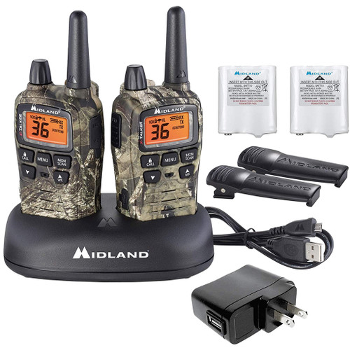 Midland Radio T75vp3 Two-way Radio Mossy Oak 2 Pk.
