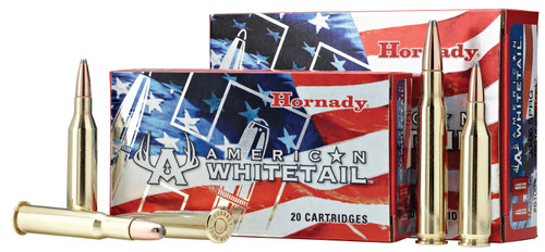 Hornady  American Whitetail 6.5 Creedmoor 129 gr InterLock Spire Point 20 Box