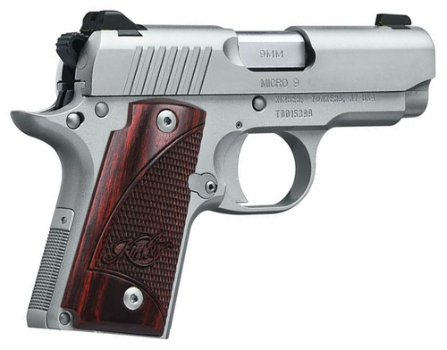 """Kimber - Micro 9 Stainless Rosewood 3.15"""" 9mm"""
