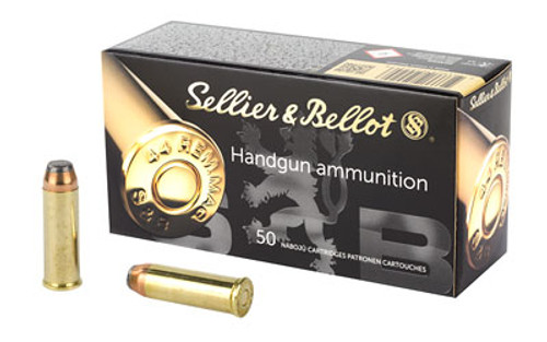 Sellier & Bellot Pistol 44MAG 240 Grain Soft Point 50 Round Box