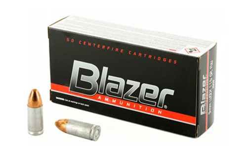Blazer Ammunition Blazer 9mm 115 Grain Full Metal Jacket 50 Round Box