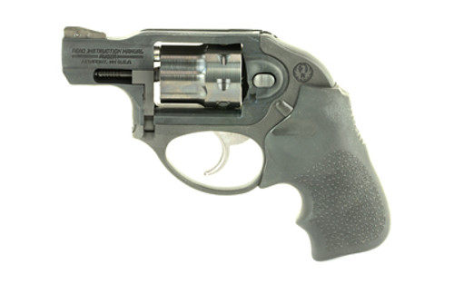 "Ruger LCR Double-Action Revolver 22 LR 1.875"" Stainless Steel Barrel Matte Black Finish Hogue Tamer Monogrip Grip U-Notch Integral Rear & Ramp Front Sight 8Rd"