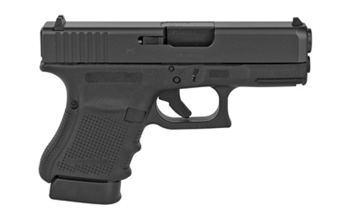 "Glock G30 Gen4 Striker Fired, Sub Compact 45ACP 3.78"" Barrel Polymer Frame Matte Finish Fixed Sights 10Rd 3 Magazines"
