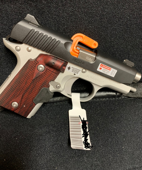 Kimber Micro 9 Two Tone (LG) with Crimson Trace Laser Grips