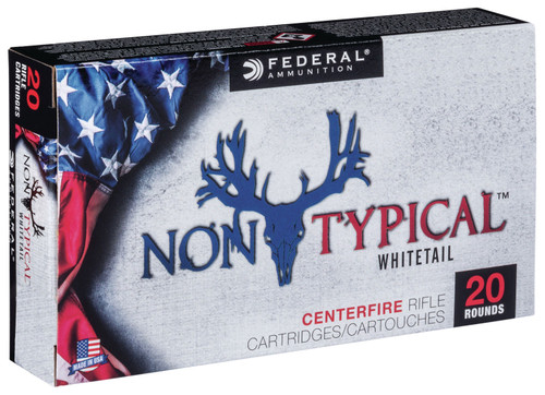 Federal Non-Typical 300 Win Mag 150 gr Non-Typical Soft Point (SP) 20 Box