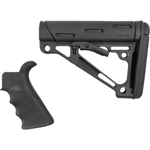 Hogue Overmolded Ar-15 Kit Black W/ Grip And Buttstock