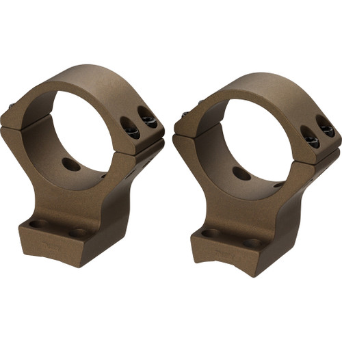 Browning X-bolt Integrated Scope Rings Burnt Bronze 30mm High