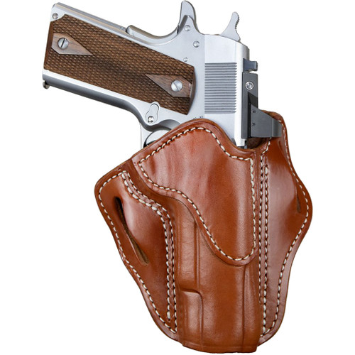 1791 Gunleather Optic Ready Belt Holster Size 1 Classic Brown Right Hand
