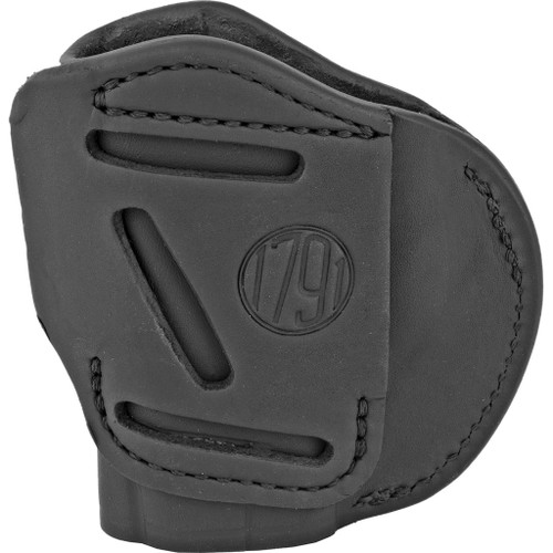 1791 Gunleather 4 Way Iwb & Owb Holster Size 1 Stealth Black Right Hand