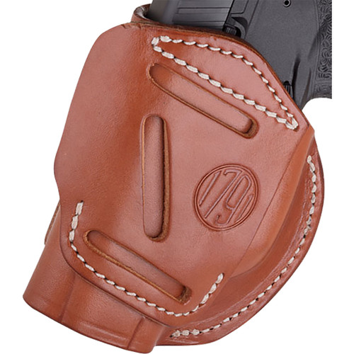 1791 Gunleather 4 Way Iwb & Owb Holster Size 1 Classic Brown Right Hand