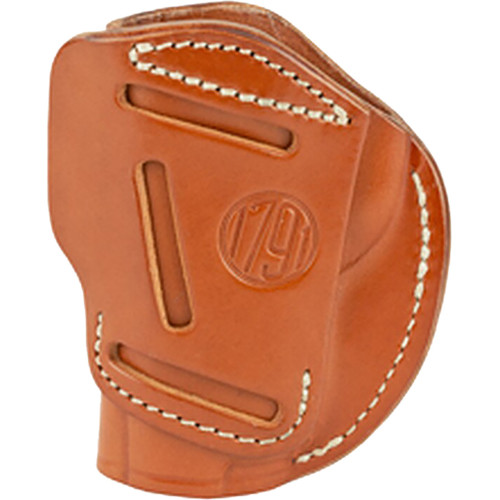 1791 Gunleather 4 Way Iwb & Owb Holster Size 4 Classic Brown Right Hand