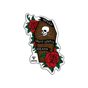 VRATIM Coffin Sticker