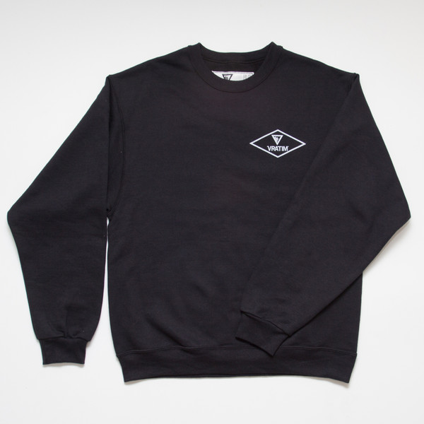The Vratim Crest Sweatshirt - front