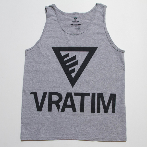 Logo Tank - Heather Grey