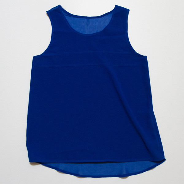 The Aly Tank - Blue