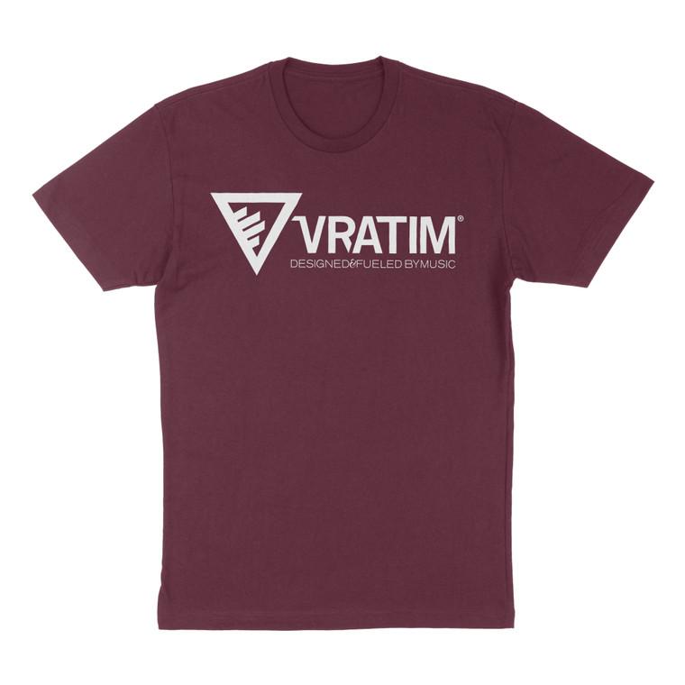 The Vratim Logo T-Shirt - Maroon