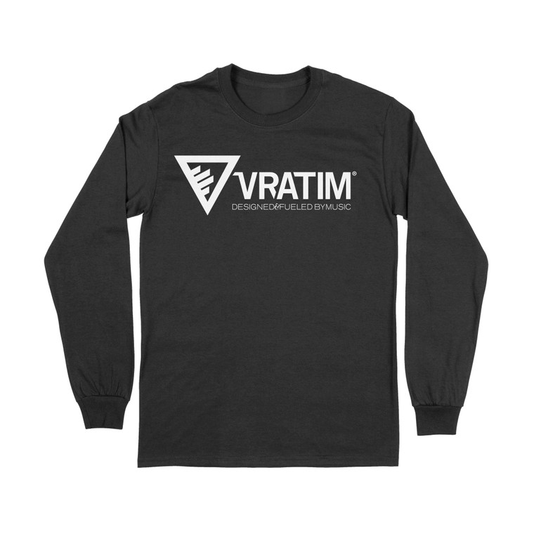 The Vratim Logo Longsleeve T-Shirt - Black